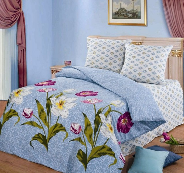 Полуторный комплект постельного белья Леди Гамильтон