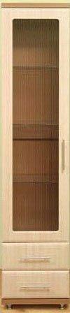 Пенал-витрина 450/2Ш Дебют