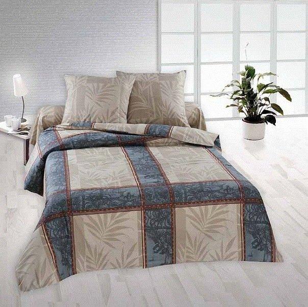 Семейный комплект постельного белья Кортес