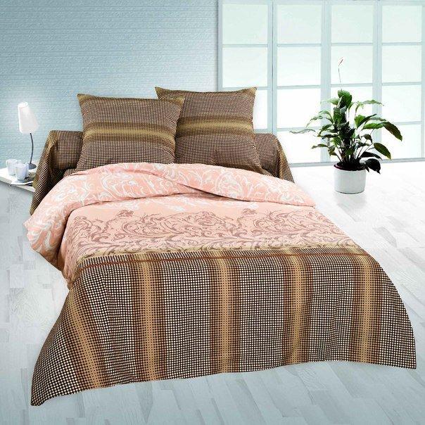 Семейный комплект постельного белья Легран