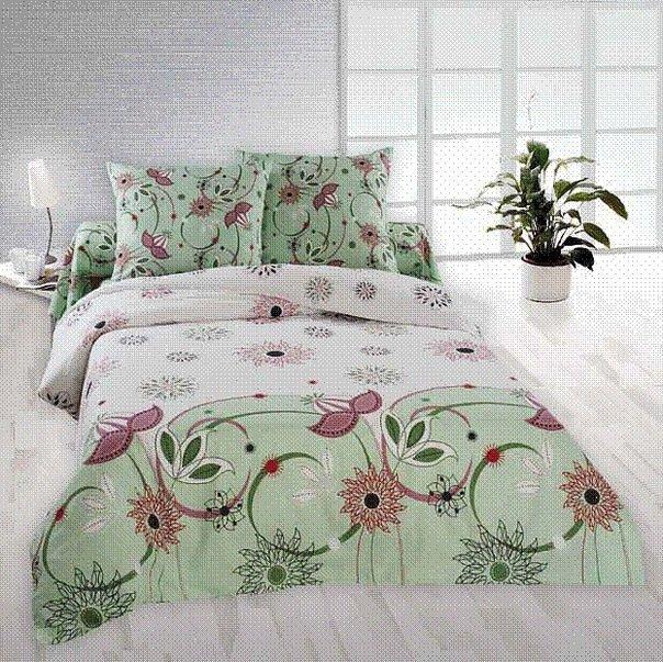 Семейный комплект постельного белья Моник