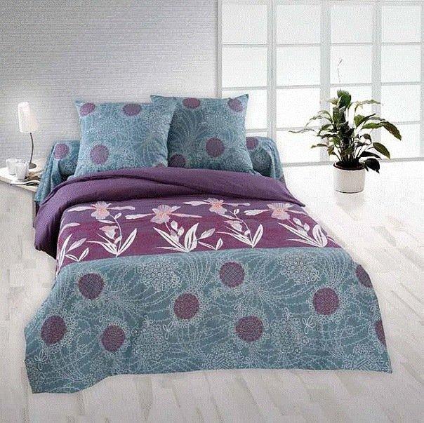 Семейный комплект постельного белья Шанте