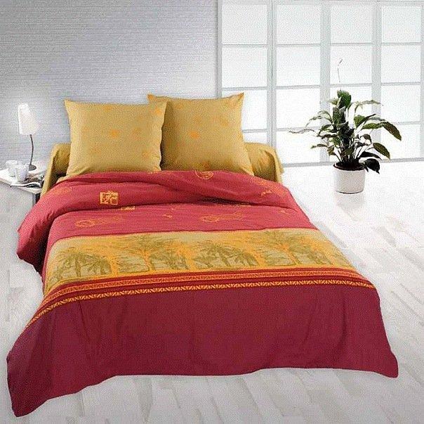 Евро комплект постельного белья Тамаринд