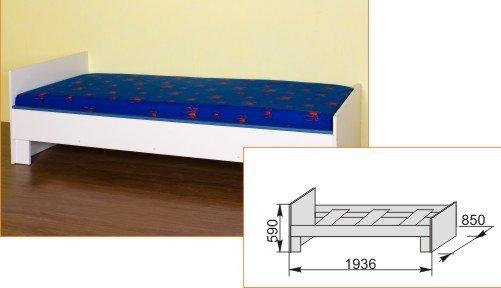 Кровать нижняя №2 Твинс