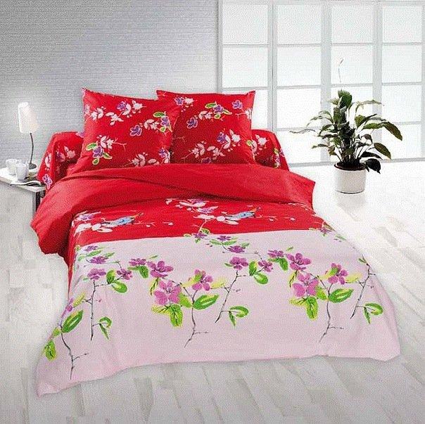 Двухспальный комплект постельного белья Амадин