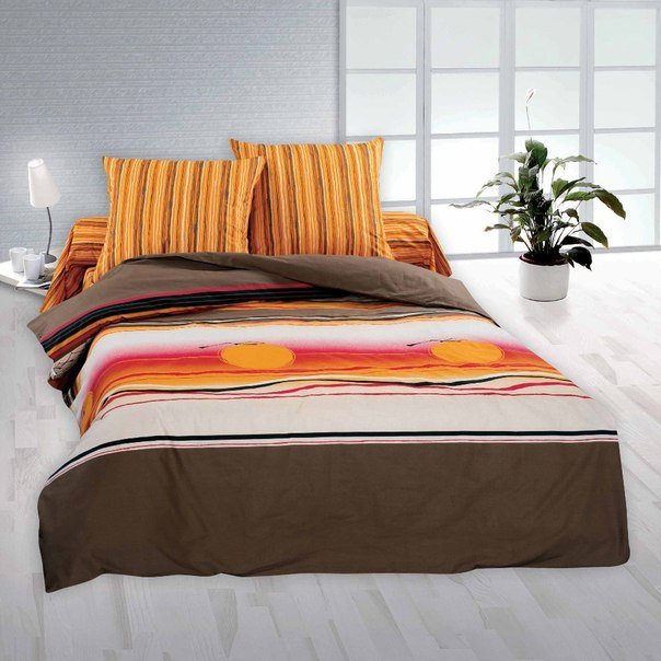 Двухспальный комплект постельного белья Сенегал