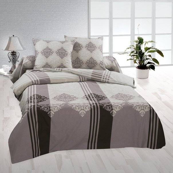 Полуторный комплект постельного белья Буржуа