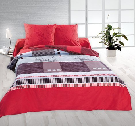 Полуторный комплект постельного белья Гренадин