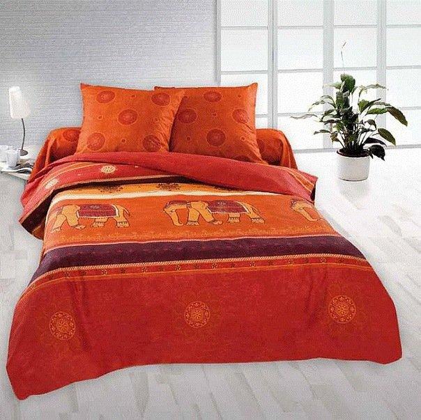 Полуторный комплект постельного белья Махна