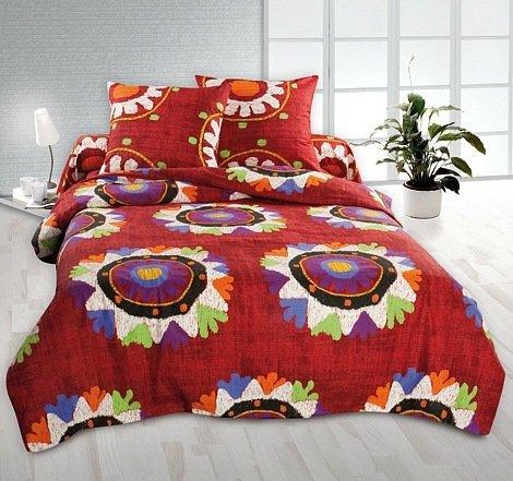 Полуторный комплект постельного белья Табаско