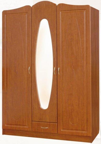Шкаф трехдверный Миллениум