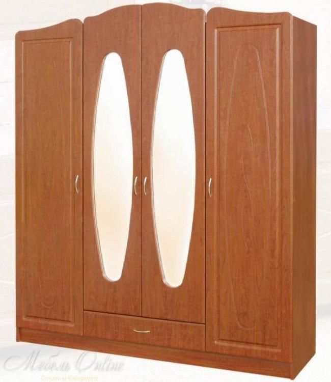 Шкаф четырехдверный Миллениум