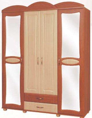 Шкаф четырехдверный Миллениум 2