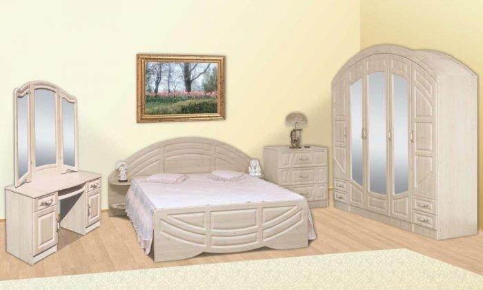Модульная спальня Миллениум Люкс