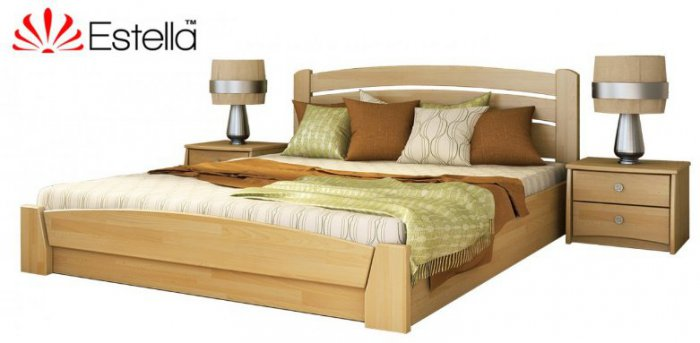 Полуторная кровать Селена-Аури - 120х190-200см