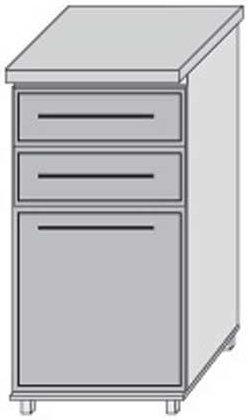 Низ 30 ящики для кухни Плаза Марта