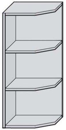Угол 30 верхний открытый для кухни Дебют