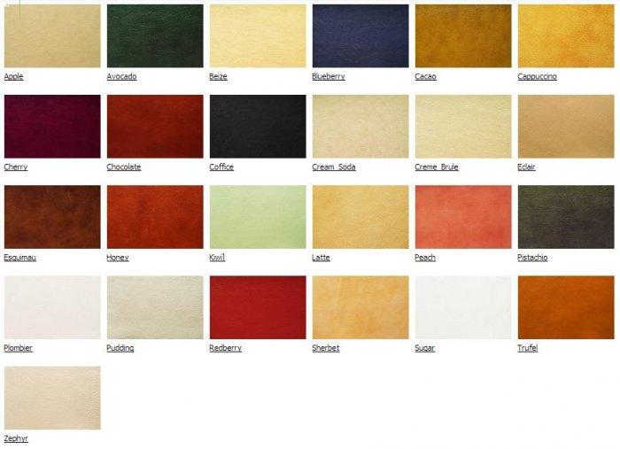 Натуральная кожа Soft Leather за 1 кв.м.