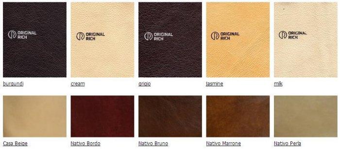 Натуральная кожа Pelle Ricca Nativo Lux за 1 кв.м.