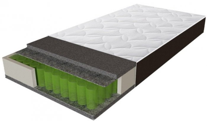 Двуспальный матрас Sleep&Fly Organic Epsilon — 160см
