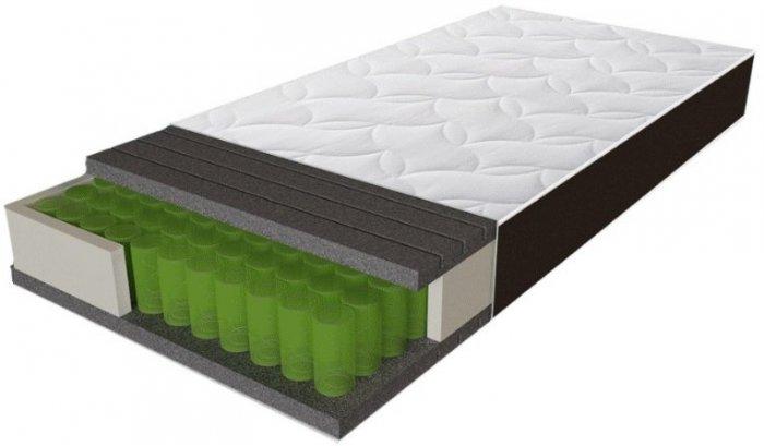 Односпальный матрас Sleep&Fly Organic Gamma — 120см