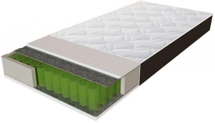 Односпальный матрас Sleep&Fly Organic Alfa — 90см