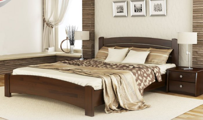 Кровать Венеция Люкс - щит или массив