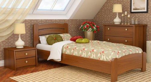 Односпальная кровать Венеция Люкс - 80х190-200см