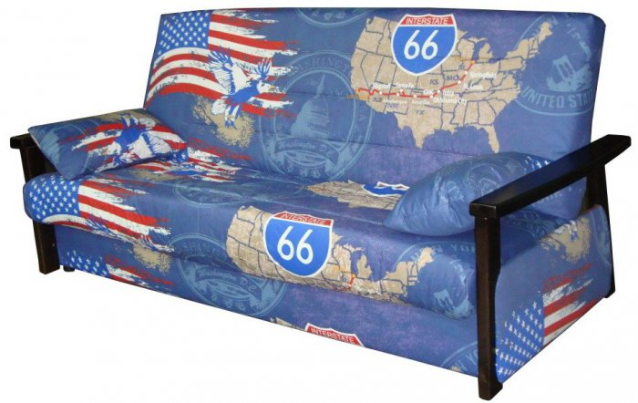 Диван Комфосон Гермес - ткань Америка синяя
