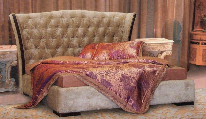 Двуспальная кровать Людовик с подъемным механизмом