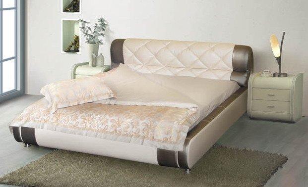 Двуспальная кровать Шанхай с подъемным механизмом