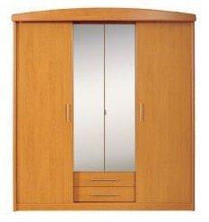 Шкаф 185 4D BRW