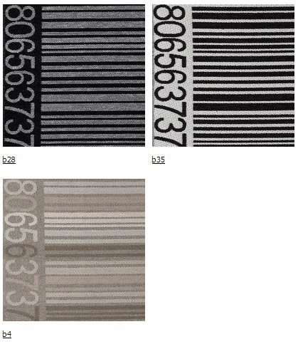 Ткань ItalVelutti Barcode ширина 140см
