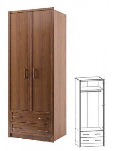 Шкаф 2d/2s V_04 Валерия