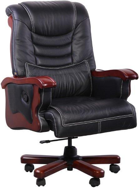 Кресло руководителя Монреаль - кожа люкс