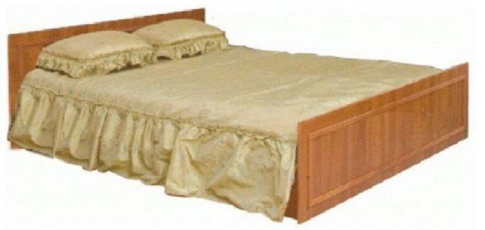 Двуспальная кровать (без матраса и каркаса)
