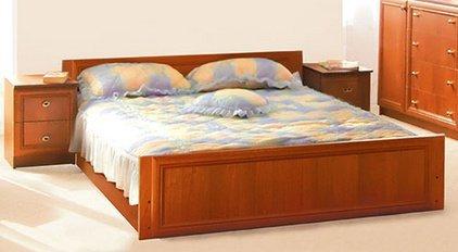 Двуспальная кровать (без матраса) Лотос
