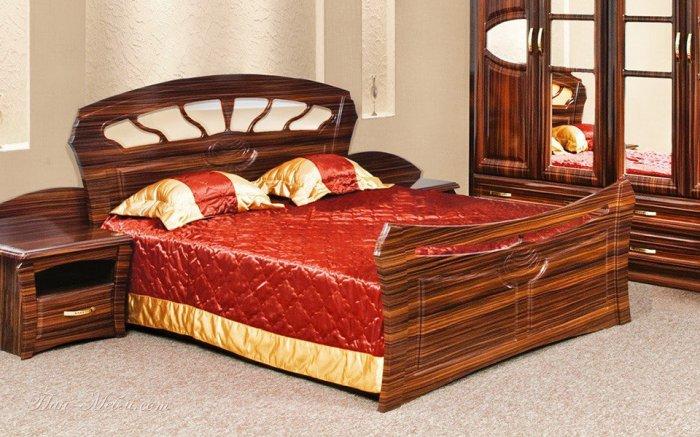 Двуспальная кровать 2-сп (без матраса и каркаса) Кармен