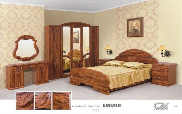 Модульная спальня Эмилия