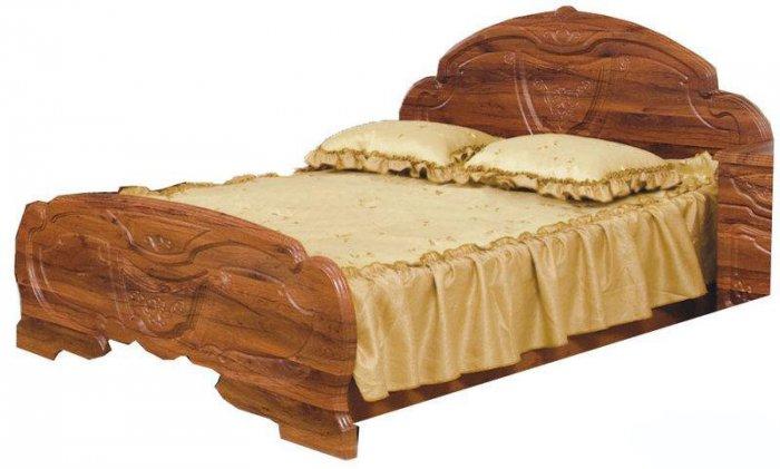Двуспальная кровать 2-сп (без матраса и каркаса) Эмилия