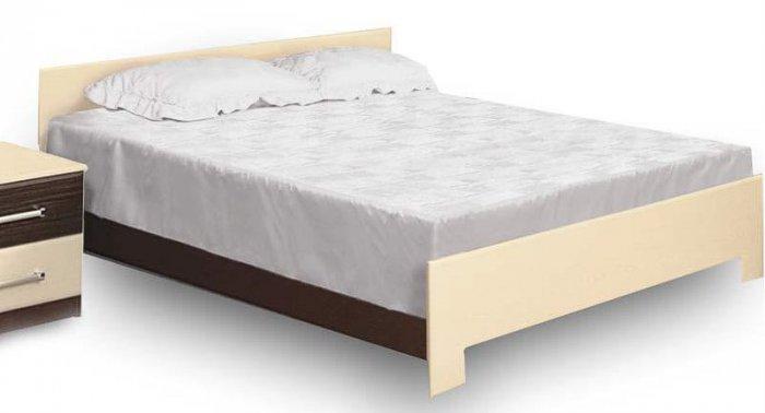 Двуспальная кровать 2-сп (без матраса и каркаса) Ника