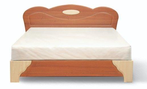 Двуспальная кровать 1.6 м. (без матраса) Лилея
