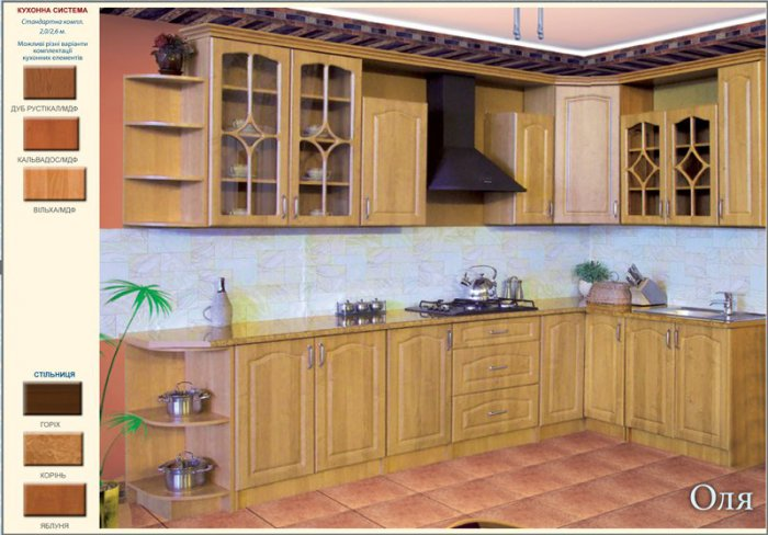 Модульная кухня Оля 2,0 метра