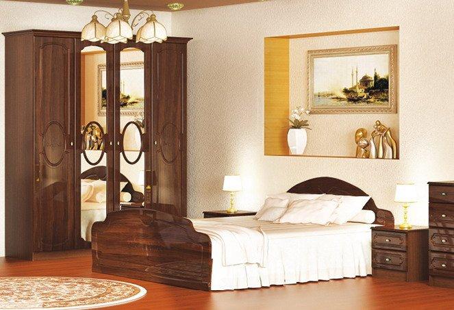 Двуспальная кровать 1600 Глория