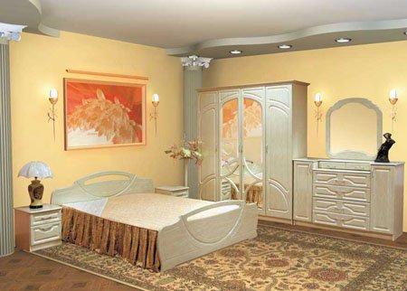 Модульная спальня Антария