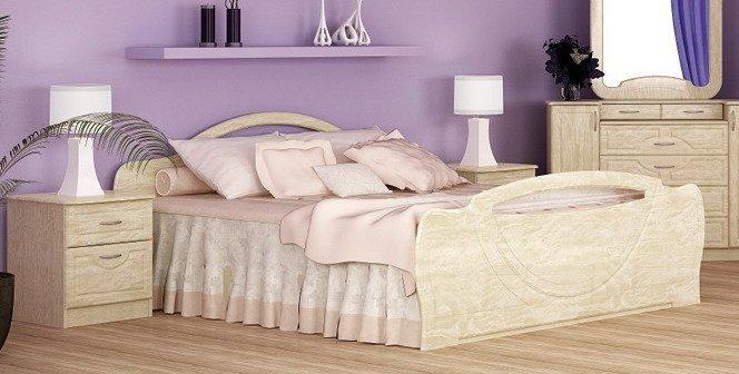 Двуспальная кровать 1600 Антария