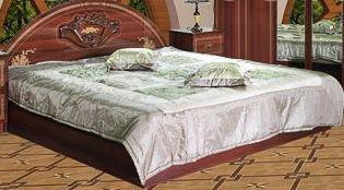 Двуспальная кровать 1600 Роза