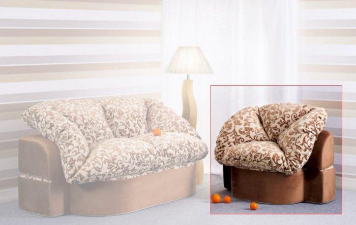 Бескаркасное кресло Иванна