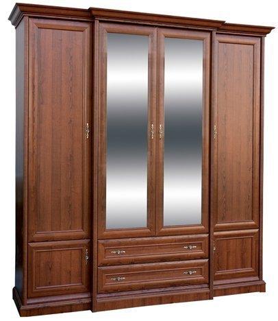 Шкаф 4Д +2Ш Людовик