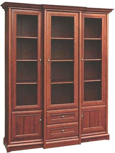 Шкаф-витрина 3В +2Ш Людовик